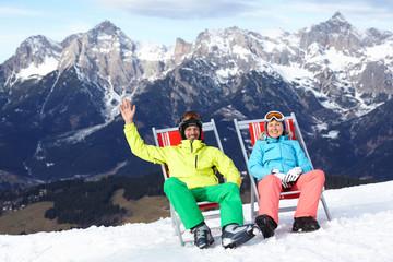 Ski, snow, sun