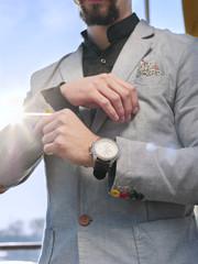 Bussinesman in a fancy suit
