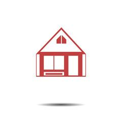 House Real Estate logo design