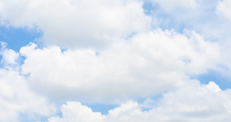 Cloud with nice blue sky,Nature background