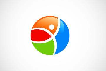 sport color logo