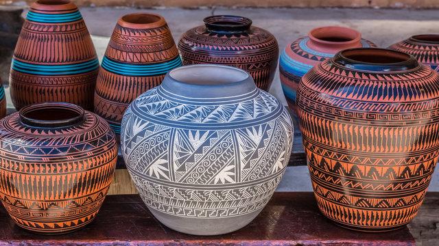 Clay Pots, Santa Fe, New Mexico