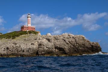 Lighthouse on Capri, Italy
