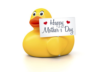 Rubber Ducky Mothers Day