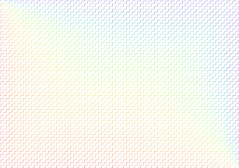 zig zag arcobaleno