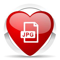 jpg file valentine icon
