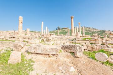 Pella is the site of ancient ruins in northwestern Jordan