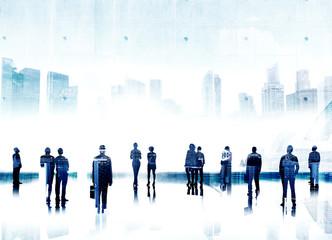 Business People Aspiration Goals Success Professional Concept