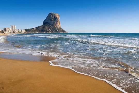 calpe beach,costa blanca,spain