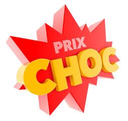 """Prix choc"" vectoriel 1"