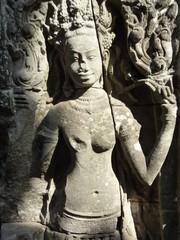 Apsara statue at Angkor