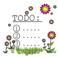 spring flower to do