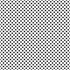 Black and White Small Polka Dots Pattern Repeat Background