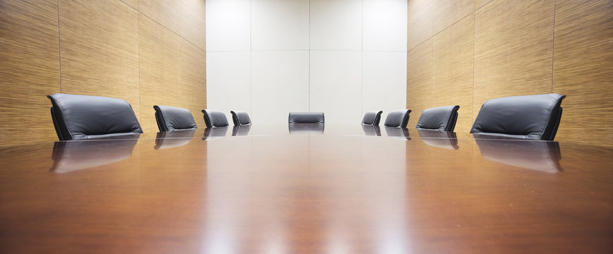 modern office meeting room table and chair