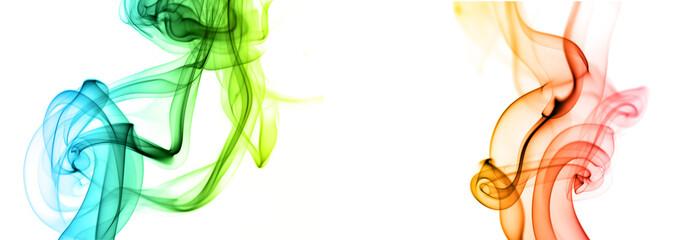 Floating smoke