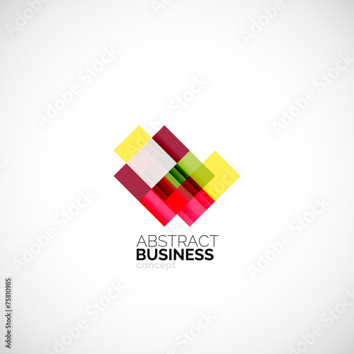 Create a Logo Free  Abstract Square Logo Templates