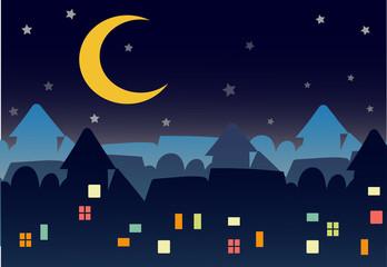 town night star