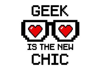 geek is chic heart