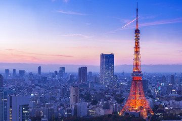 Türaufkleber Tokio Tokyo Tower