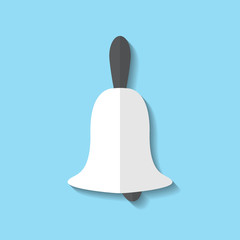 Vector bell web icon