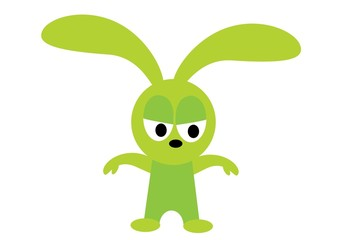 królik zły