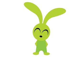 radosny królik