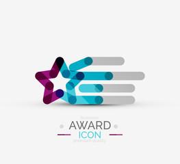 Award icon, logo.