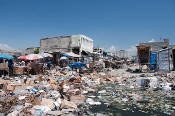 Downtown Port-au-Prince, Haiti