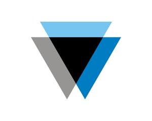 triangle logo template v.4
