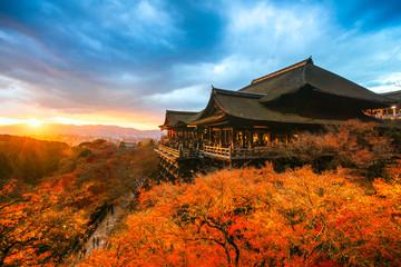 Photo sur Plexiglas Kyoto Kiyomizu-dera Temple in Kyoto, Japan