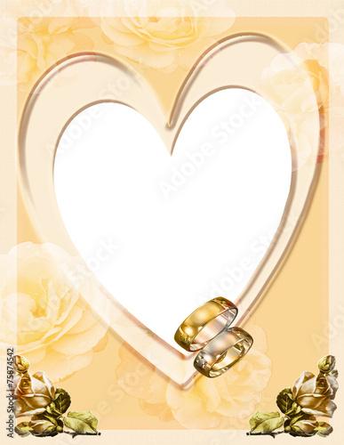 Fotorahmen Goldene Hochzeit Stockfotos und lizenzfreie