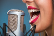 Singing Woman's Mouth