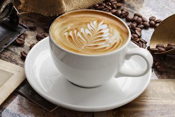 Caffe Latte - fototapety na wymiar