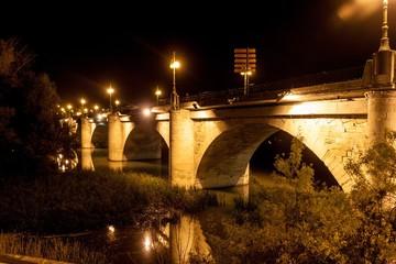 Puente de Piedra (Stone bridge) in Logrono