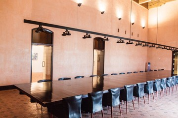 Room in Aljaferia palace in Saragossa