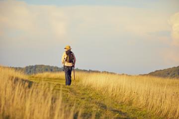 Wanderer Wiese