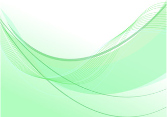 sfondo onda verde acqua