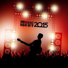 New year music show