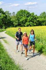 Fit und gesund durch Nordic Walking