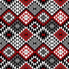 American Indian seamless pattern design