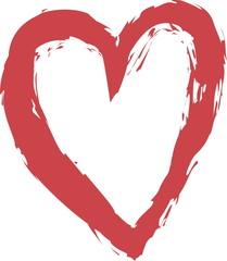 cartoon heart love symbols