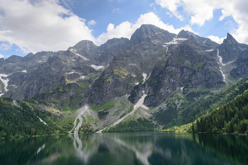 Lake Morskie Oko,Tatra National Park, Poland