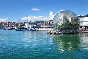 Porto Antico Genua mit Biosphäre
