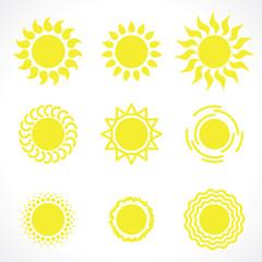 yelow sun symbols