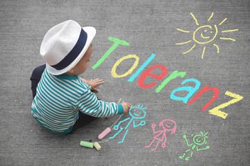 Kinderzeichnung - Toleranz