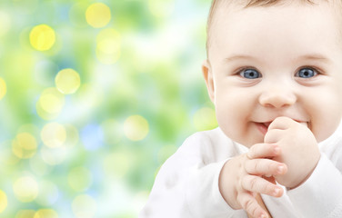 beautiful happy baby Fotoväggar