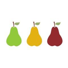 Icono variedades de peras