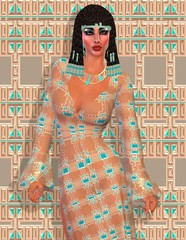 Cleopatra, Egyptian modern digital art