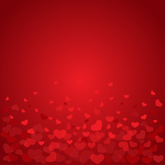 red valentine background