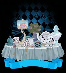 Canvas Prints Fairytale World Tea Party